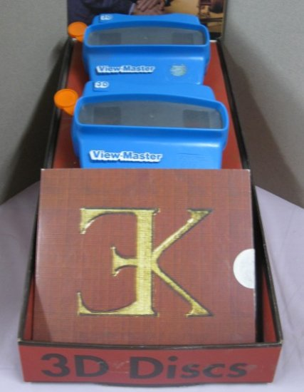 Eugene Kupjack Miniature Rooms 3D Viewmaster Set - Click Image to Close