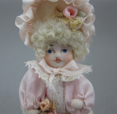 Dollhouse Doll in Pink - Click Image to Close